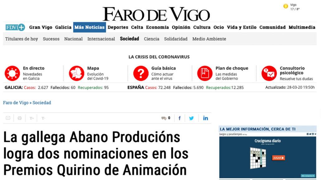 Abano Producións - Noticia