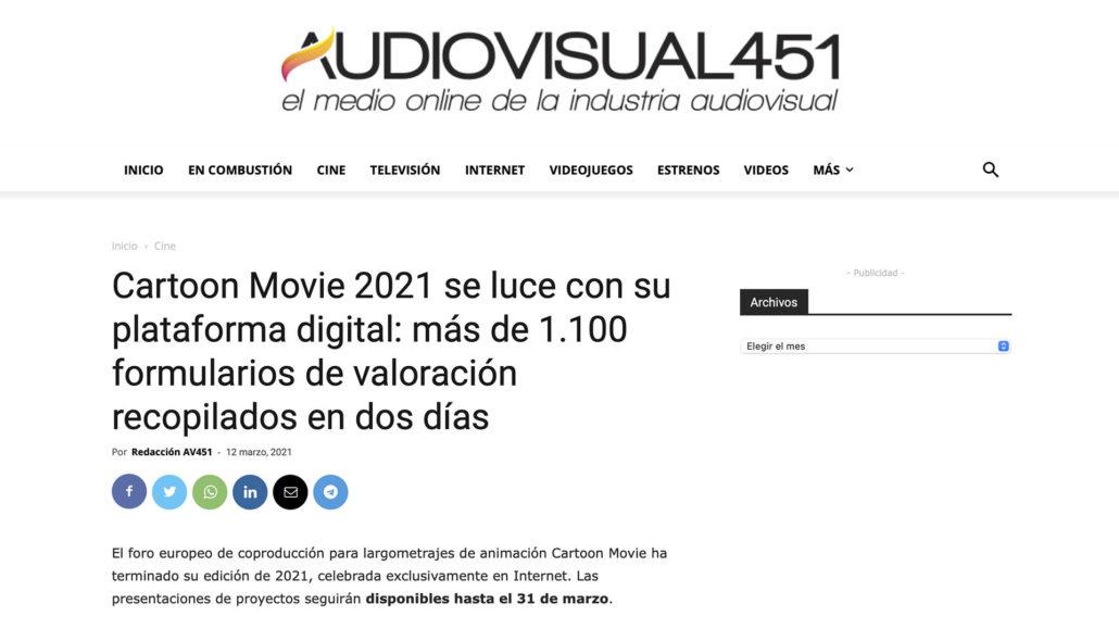 Abano Producións - Noticia Valentina