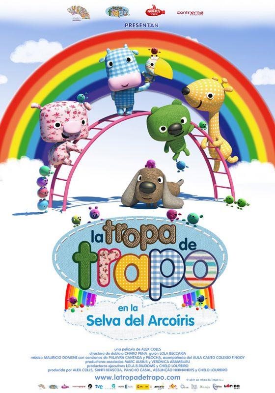 Abano Producións - La tropa de trapo - En la selva del arcoíris